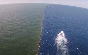 Atlas ve Pasifik Okyanusunun suları birbirine karışmıyor mu?