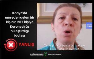 Konya'da bir kişinin 257 kişiye Koronavirüs bulaştırdığı iddiası